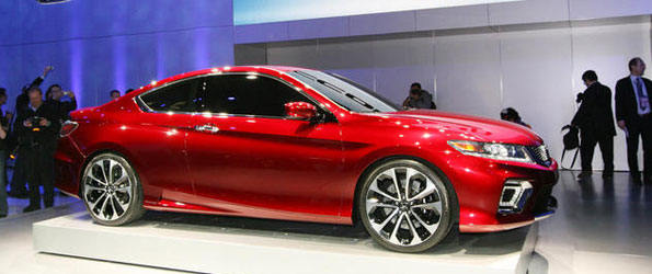 New Accord Coupe Concept