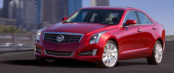 Cadillac ATS Revealed as BMW 3 Series Rival