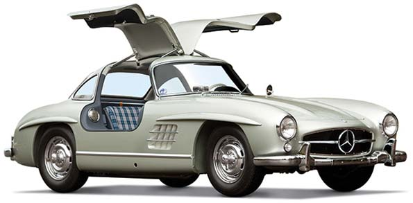 Mercedes-Benz 300SL Sells for $4.62 Million at Auction