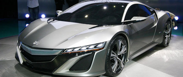 This is the new Acura NSX