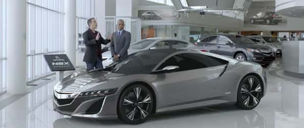 Acura NSX Commercial