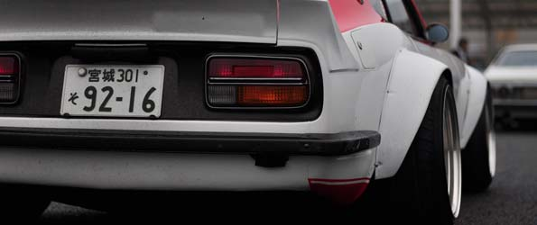 Datsun Z in Japan