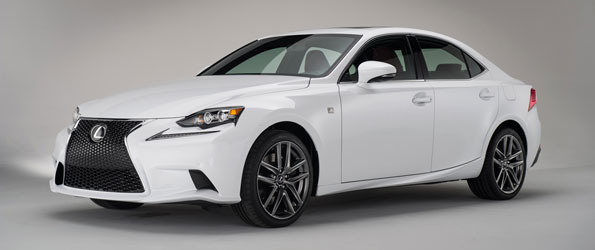 2014 Lexus IS Revealed