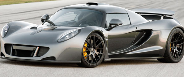 Hennessey Venom GT world record 0-300km/h