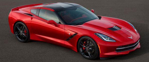 This is the 2014 Corvette