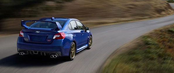 2015 Subaru WRX STI Photos Leaked