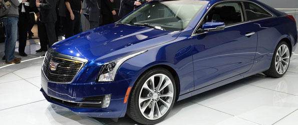 Cadillac Launches the ATS Coupe at the Detroit Auto Show