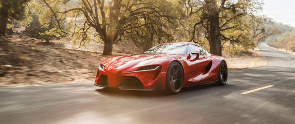 Toyota FT-1 Concept Stuns in Detroit
