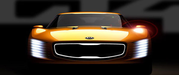 New Kia GT4 Stinger Concept Teased Before Detroit