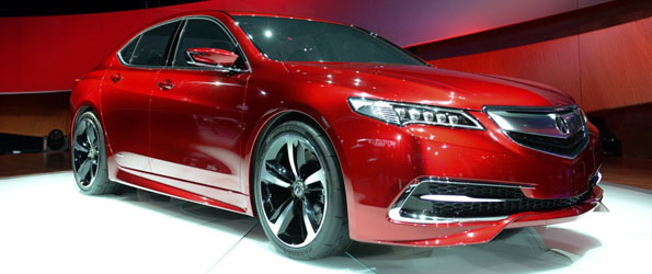 Acura TLX Prototype Sets Design Direction for all-new Acura TLX