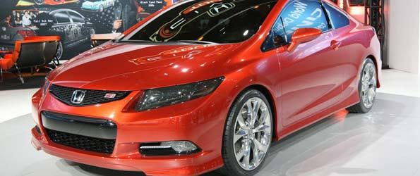 2012 Honda Civic Si to Get Torquier 200-HP 2.4L