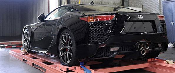 How Lexus ships the LFA