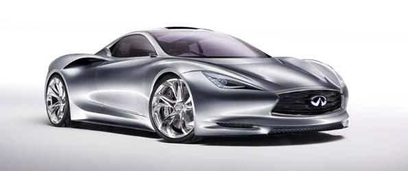 Infiniti Emerg-E Hybrid Supercar Leaked