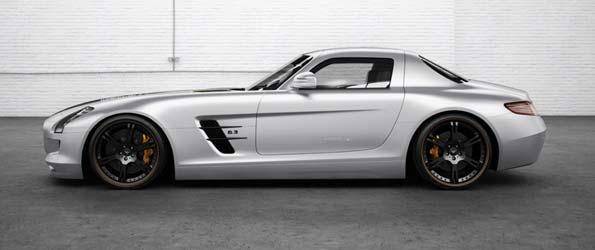 "2012 Mercedes SLS ""Silver Wing"""