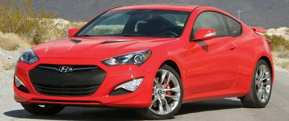 Driving the 2013 Hyundai Genesis Coupe