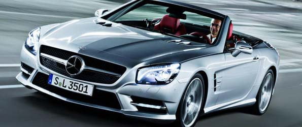 2013 Mercedes SL63 AMG to Bow at New York Auto Show