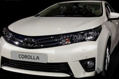 2014 Toyota Corolla Images Leaked