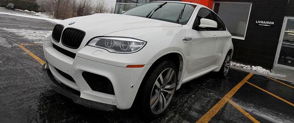 2013 BMW X6M with Aprapovic turbo back exhaust