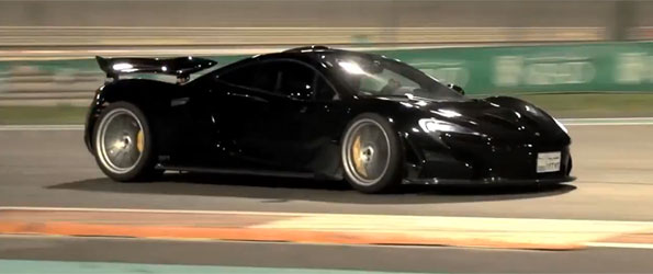 The McLaren P1 Test. On Road and Track: CHRIS HARRIS ON CARS