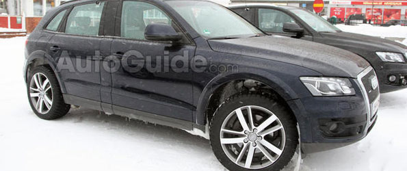 Audi Q6 Spy Photos