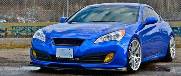 Genesis Coupe Photoshoot