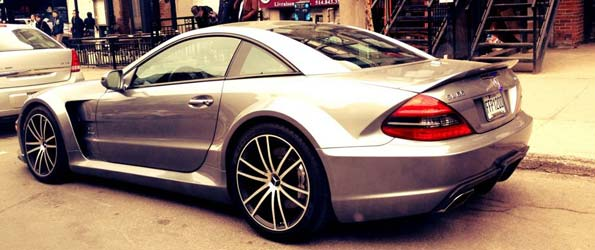 Mercedes SL65 Black Series Spotted in Montreal