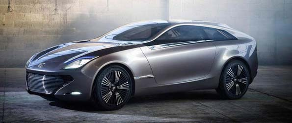 Hyundai i-oniq Concept Gets Lambo Doors