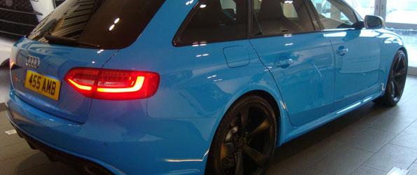 Riviera Blue Audi RS 4 Avant