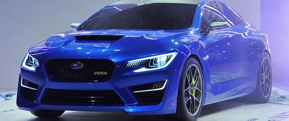 Subaru WRX Concept Revealed!