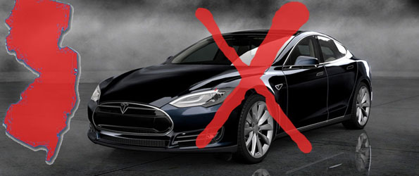 New Jersey Bans Tesla Sales
