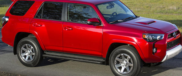 Toyota 4 Runner Gets Facelift