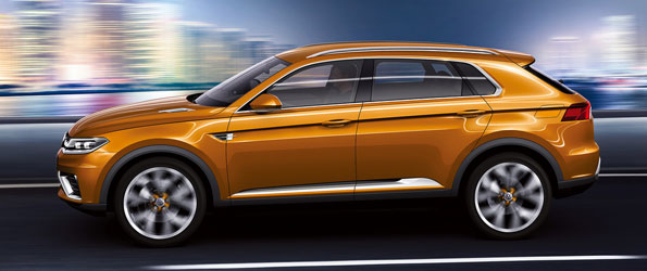 Volkswagen Crossblue Coupe is not blue nor a coupe