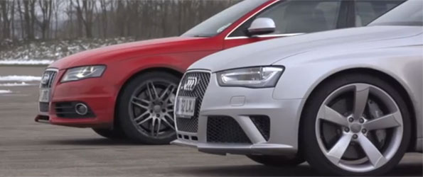 Tuned S4 vs RS4