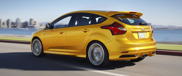 How Ford Makes the Focus ST Drift