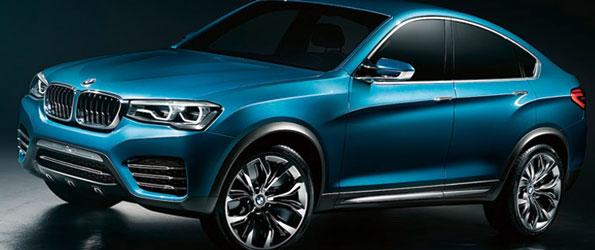 BMW X4 Concept World Premiere