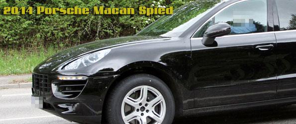 2014 Porsche Macan Spied