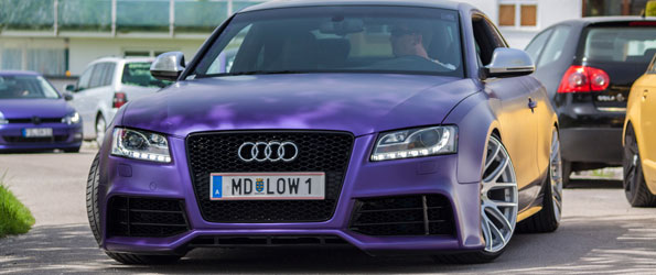 Purple Overload at Worthersee 2013
