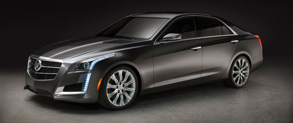 First 2014 Cadillac CTS to be Auctioned at Barrett-Jackson