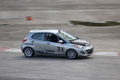 I drove a Mazda2 B-spec race car!