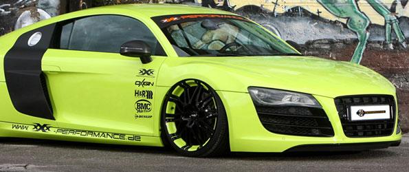 Bagged Audi R8