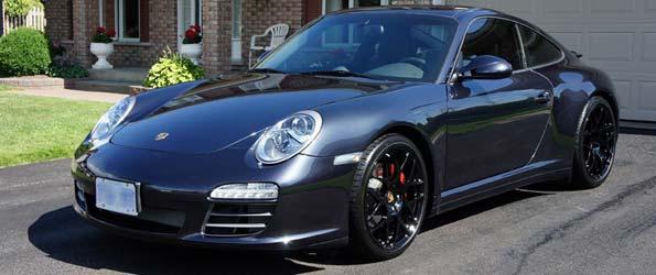 Porsche 911 C4S Detail