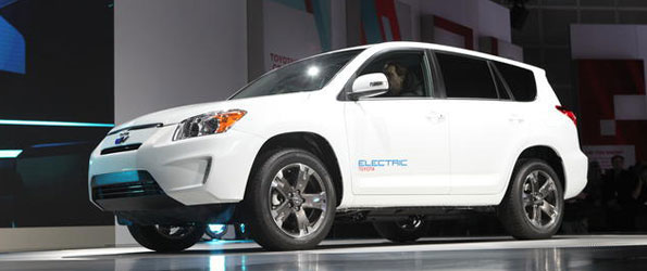 Tesla to Supply Toyota RAV4 EV Electric Powertrains