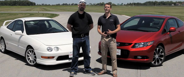 Road Test: 2013 Honda Civic Si vs 1998 Acura Integra Type R