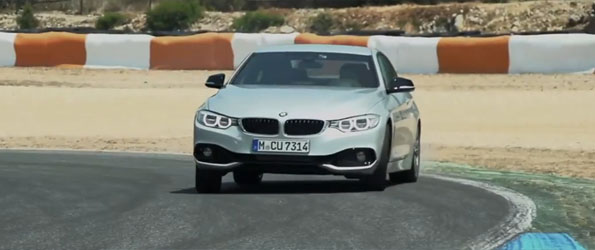 Chris Harris Drifts the new 435i