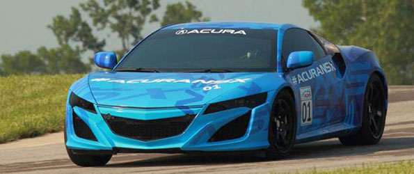 Acura Tweets 2015 NSX Prototype Photo