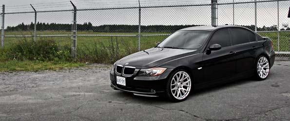 BMW 3-series photoshoot