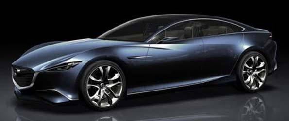 Mazda Shinari Shows Brand's New Design Language