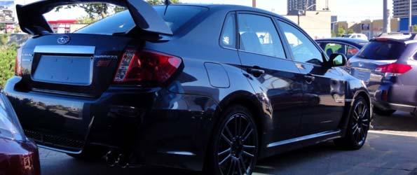 The 2011 Subaru STI has arrived