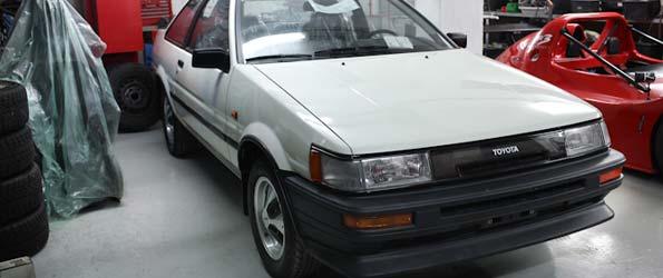 A Brand New Corolla AE86