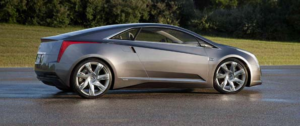 Caddy Gets a Sexy Volt Coupe